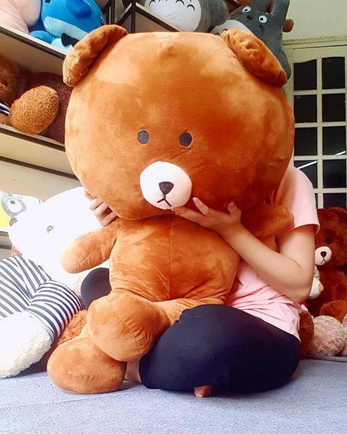Gấu Brown đáng yêu làm quà tặng to bự cho bạn gái