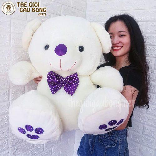 gấu trắng 90cm