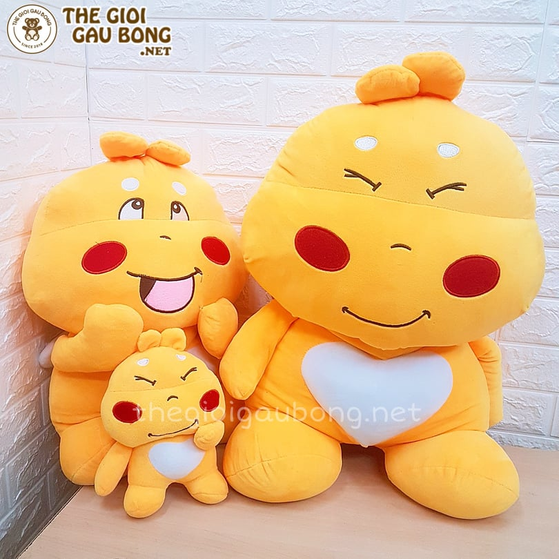 gấu bông qoobee, agapi làm quà tặng gái rẻ đẹp bán tại Hà Nội