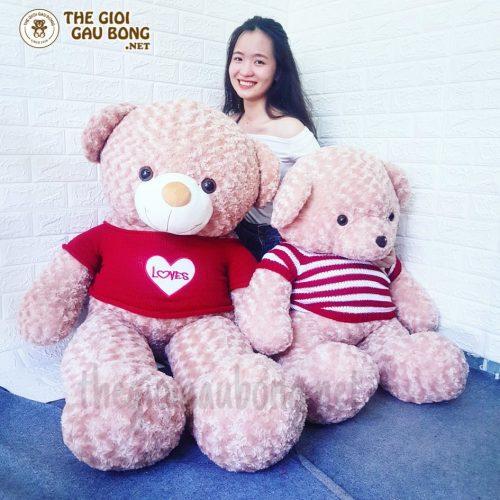 gấu bông 1m5 và 1m2
