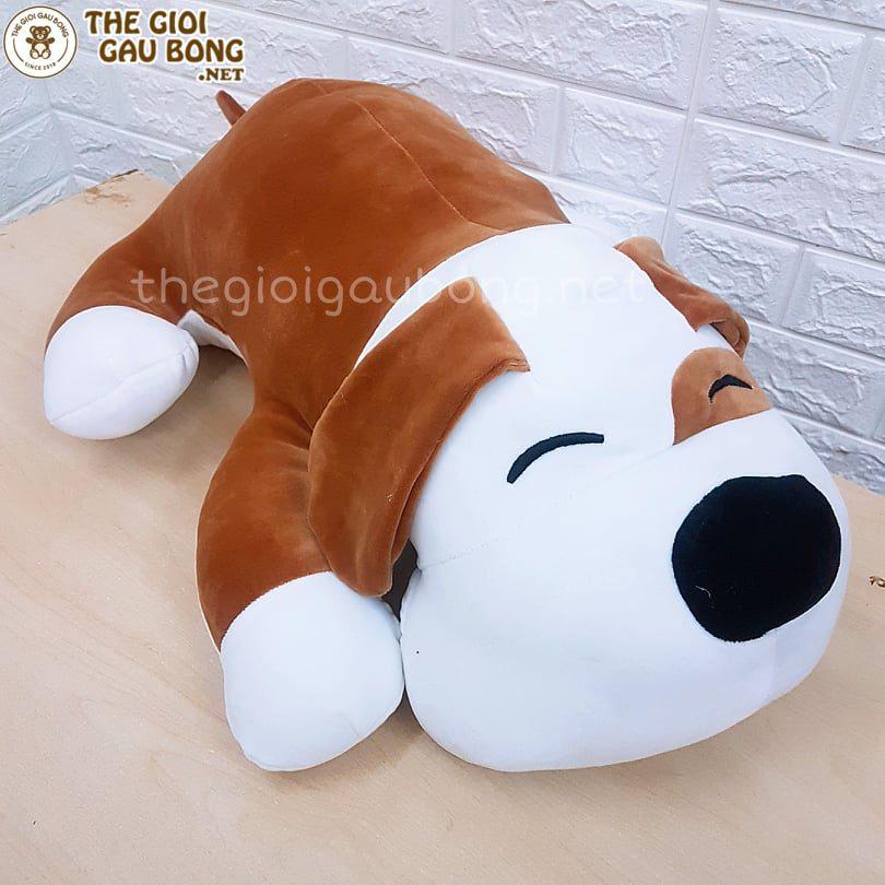 Sắm ngay một bé chó bông iu iu như này nhé