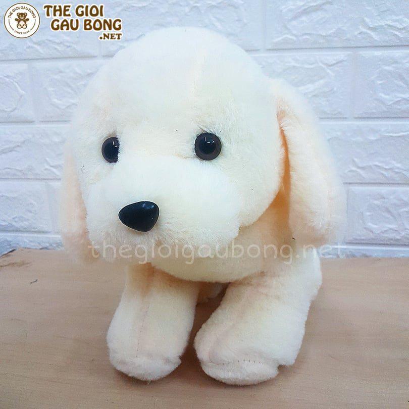 Cún bông trắng 30cm