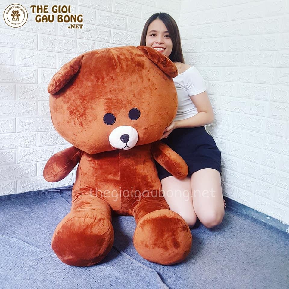 Gấu bông Brown  to 1m4 siêu bự