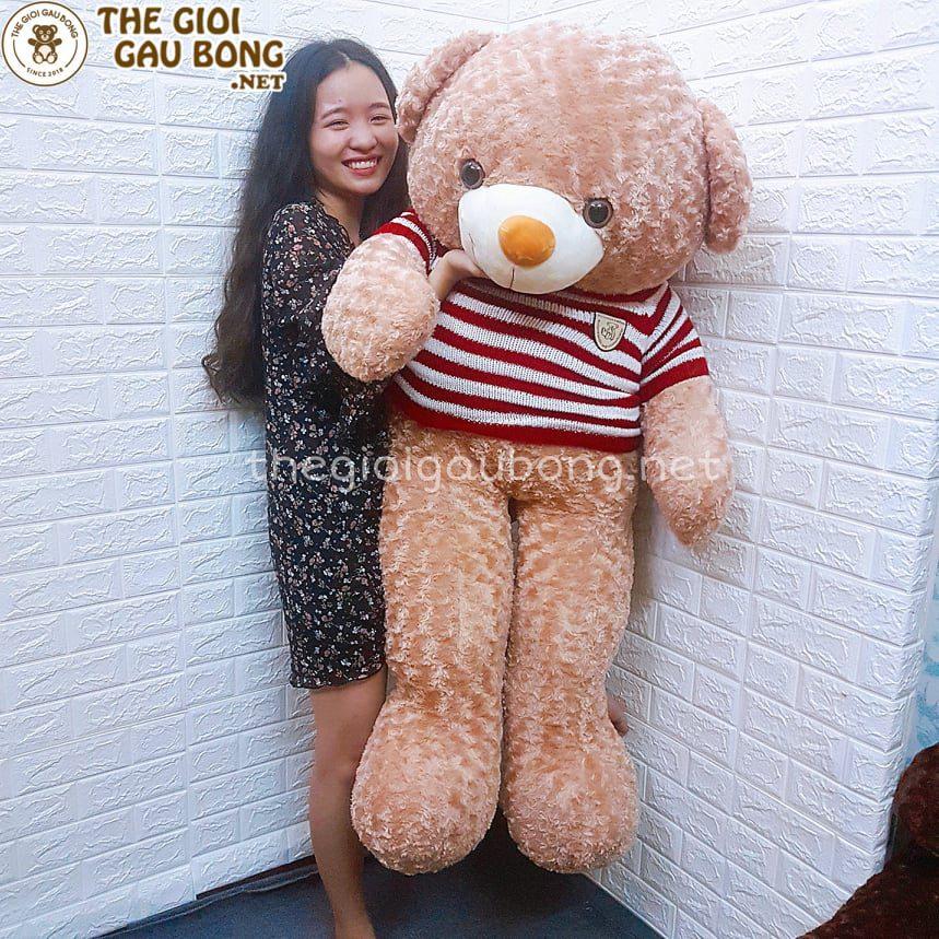 gấu bông 1m5 làm quà tặng siêu to khổng lồ