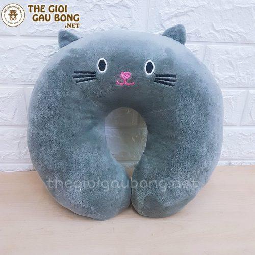 gối mèo vòm ôm cổ
