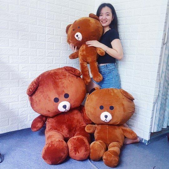 Brown 1m4, 1m1, 80cm