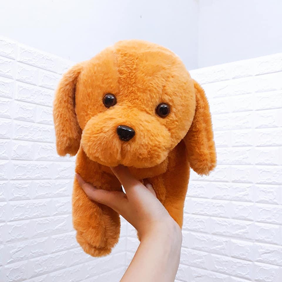 Gấu bông Hà Nội size 30cm màu nâu vàng