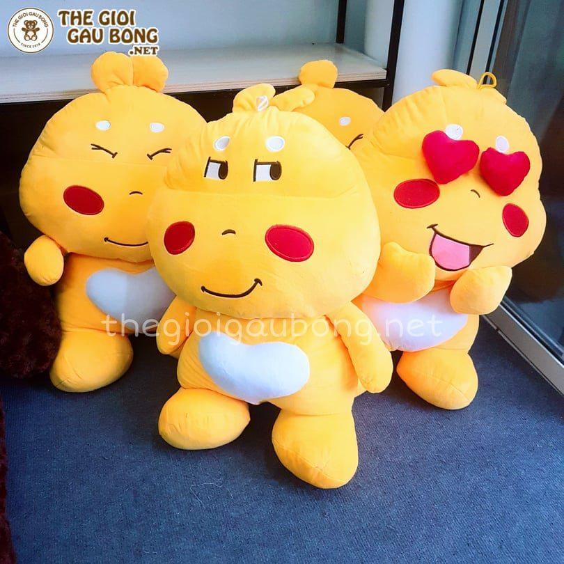 Gấu Qoobee size 80cm thích hợp làm quà tặng bạn gái